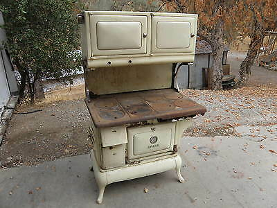 Antique Spark Wood- Gas Cook Stove