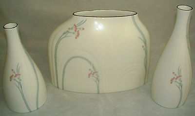 Royal Doulton Impressions by Gerald Gulotta 1982 CARNATION Grouping of 3