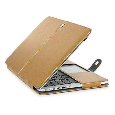 "Hard Cover Sleeve Protection Case for MacBook Pro 15"" Non-Retina Leather /P220"
