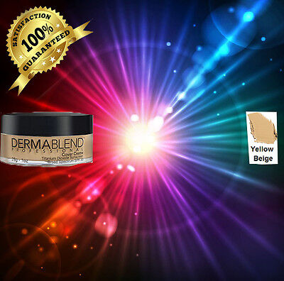Dermablend Cover Creme 1oz chroma  YELLOW BEIGE
