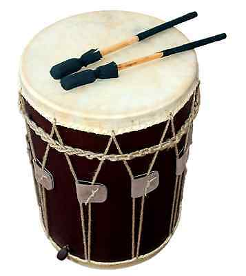 "Mittelalter Trommel / Medieval Drum, 13,5"" x 19"", Dark Brown"