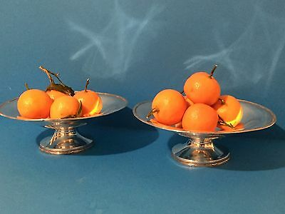 Pair of Large Silver 916 Silver Comports / Fruit Stands