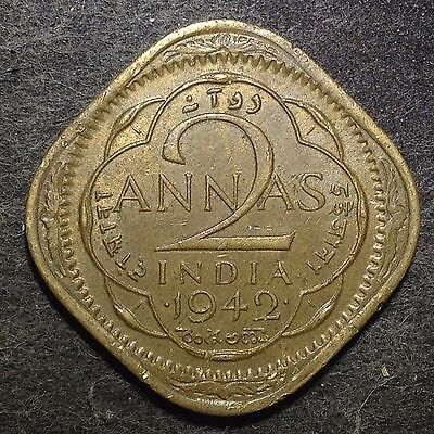 India 1942(b) 2 Annas (George VI) / 1738