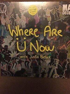 Skrillex And Diplo - Where Are U Now Record Store Day 2016 Feat. Justin Bieber