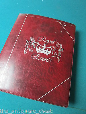 Royal Events in the life of HER MAJESTY QUEEN ELIZABETH, stamps, book[shelf]