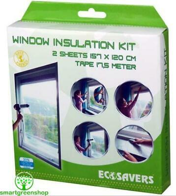 EcoSavers Window Insulation Kit, Secondary Double Glazing film