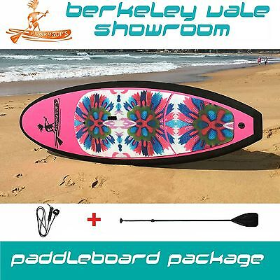 Stand up paddleboard SOFT TOP 10'6 Package with Paddle 'Family Flower'