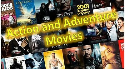 Action Adventure $1.99 DVD's  -  Choose From List    [Buy 4 & Get 1 Free]