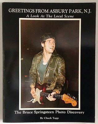 SIGNED Greetings From Asbury Park NJ BOOK The Bruce Springsteen Photo Discovery