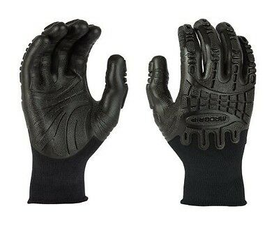 Mad Grip F50 Thunderdome Impact Gloves, Black, X-Large