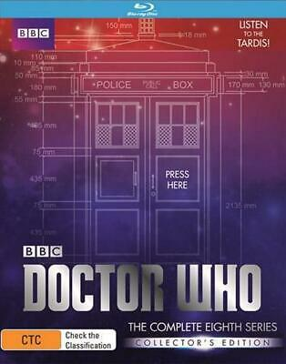 Doctor Who : Series 8 : Limited Edition - Blu Ray Region B Free Shipping!