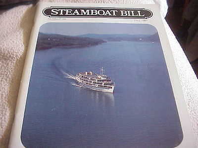 French Line SS DEGRASSE 1924 - STEAMBOAT BILL fALL 1987