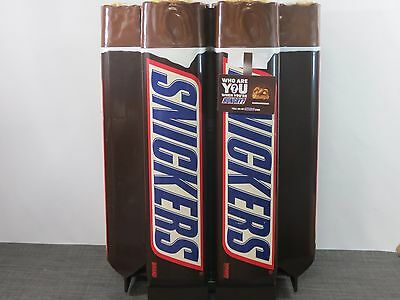 SNICKERS CANDY BAR BARREL Plastic Display Approx. 32x24x24