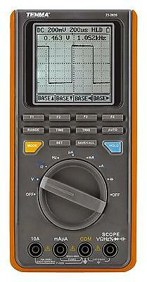 Tenma Handheld 16mhz Oscilloscope With Ac/dc Voltage & Current Resistance