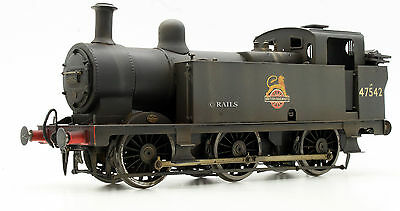 O Gauge Kit Built Br Black Weathered Class 3F Jinty 0-6-0 Tank Loco 47542