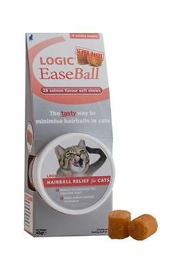 Ceva - Logic EaseBall Anti-Hairball Treats for Cats x 28 Pack