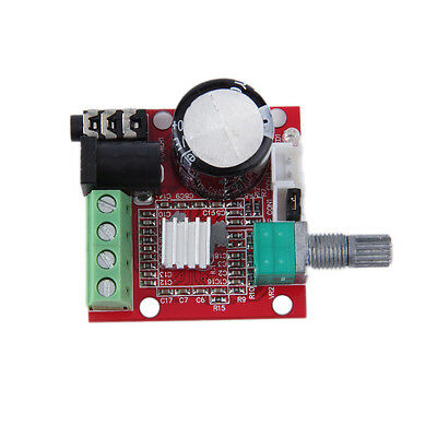 2*10W Dual Channel Hi Fi PAM8610 Mini Amplifier board 12V for Computer audio ZY