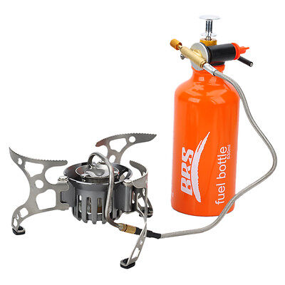 Outdoor Camping Picnic Cookout Split-Type Oil/Gas Multi-Fuel Stove Cooker Burner