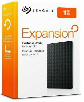 """NEW Seagate Expansion 2.5"""" 1000GB 1TB External Portable Hard Drive HDD USB 3.0"""