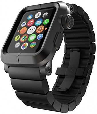 LUNATIK EPIK Aluminum Case And Metal Link Band For For Apple