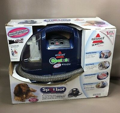 Bissell Spotbot 1200-6 Portable SpotBot Pet Microban Carpet Spot Stain Cleaner