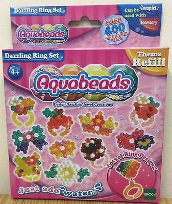 Aquabeads Just Add Water - Dazzling Ring Set - 79278 - New