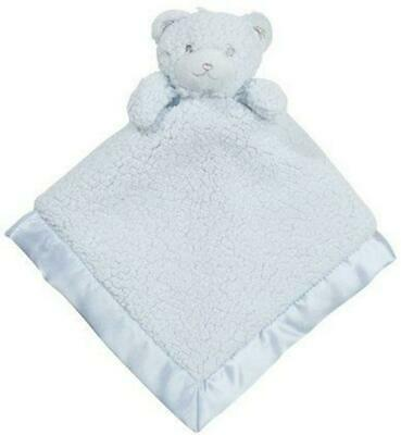 Little Haven Bear Security Blanket (Blue) Free Shipping!