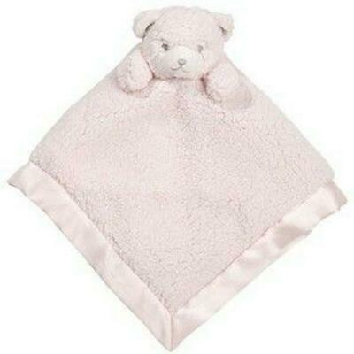Little Haven Bear Security Blanket (Pink) Free Shipping!