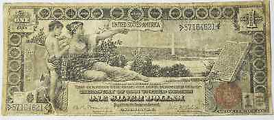 1896 $1 Silver Certificate Large Educational Note Fr#225 Rare 57164621