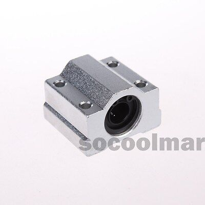 4PCS Linear Ball Bearing  SCS16UU Pillow Block Linear Slides Unit for CNC 16mm