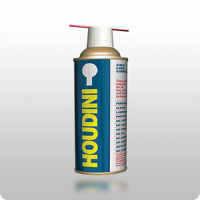 Houdini 4-Way Lock Lubricant