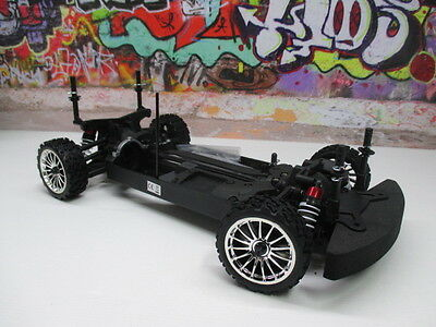 Kyosho 1/10 Fazer VE 4WD Electric On Road Rally Rolling Chassis Car OZ RC Models
