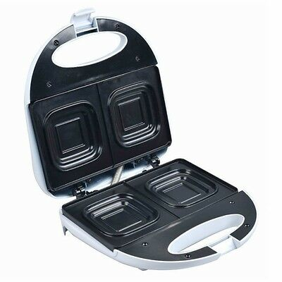 Electric Jaffle Press Machine Sandwich Maker Toaster Twin Toastie Non Stick NEW