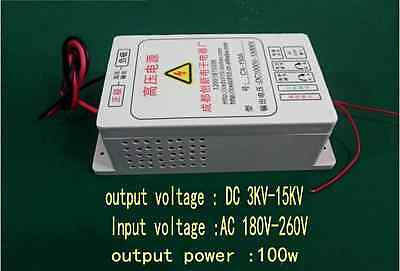 NEW DC 3kv ~ 15v high-voltage electrostatic generator air purifier power 100w