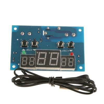Digital Temperature Control Switch DC12V Heat Cool Thermostat Thermometer