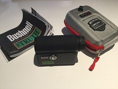 Bushnell The Truth 4x20mm LRF Laser Range Finder, super accurate hunting golf