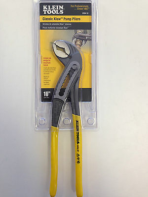 NEW KLEIN TOOLS D504-10 10'' (254 mm) Classic Klaw™ Pump Pliers