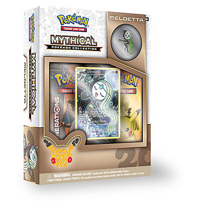 Mythical Pokemon Collection - Meloetta Pin Box PRESALE