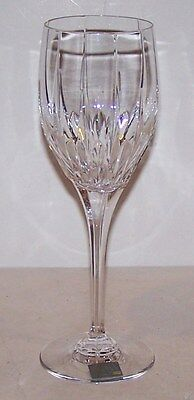 "Beautiful Mikasa Crystal Arctic Lights 9"" Water Goblet"
