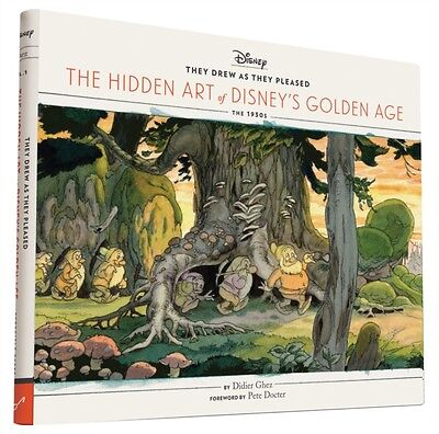 They Drew as They Pleased: The Hidden Art of Disney's Golden Age (Hardcover), G.
