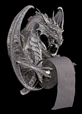 Dragon Toilet roll holder - Old Wise - Gothic Figurine