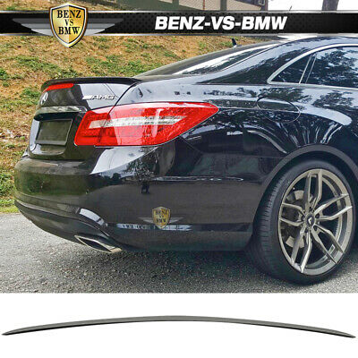 10-16 Benz W207 C207 2Dr Coupe AMG Style ABS Unpainted Trunk Spoiler
