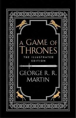 A Game of Thrones by George R.R. Martin Hardcover Book