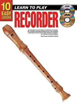 10 Easy Lessons - Learn To Play Recorder - Teach Yourself How To Play Recorder