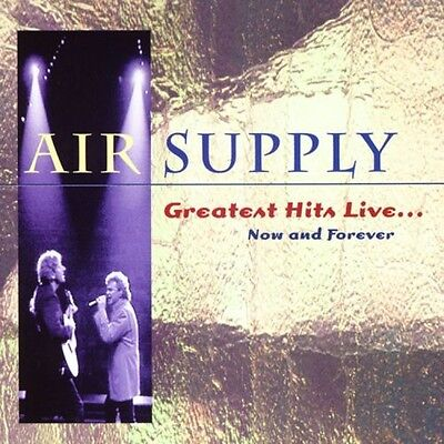 Air Supply - Greatest Hits Live: Now and Forever [New CD]