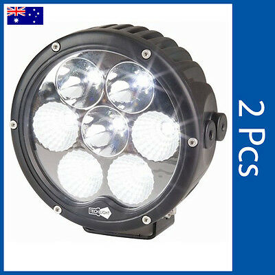 "LED COMBINATION LIGHT SPOT/FLOOD 6300 Lumen 6.5"" Solid LED light SL-3920 x 2"