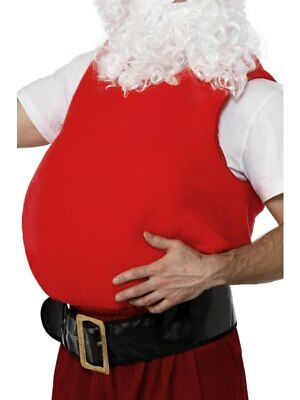 Adult Christmas Santa Belly Stuffer Fancy Dress Xmas Party Costume Accessory