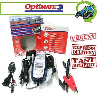 New Optimate 3 (was 3+) 12V Battery Charger and Tester for Motorcycle Batteries