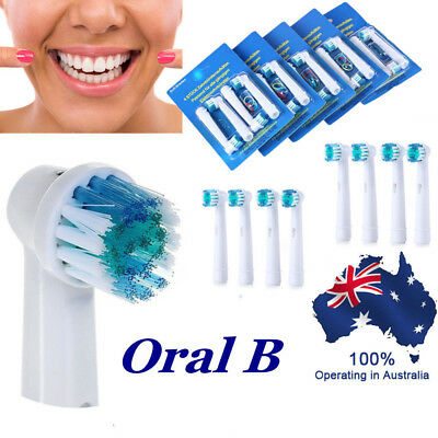 8x Electric Toothbrush Heads Oral B Compatible Replacement Brush Precision Clean
