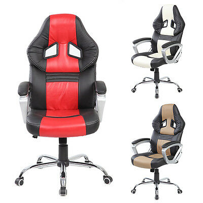 Life Carver Luxury Designed Gaming Swivel Chair Adjustable Office PU Chair